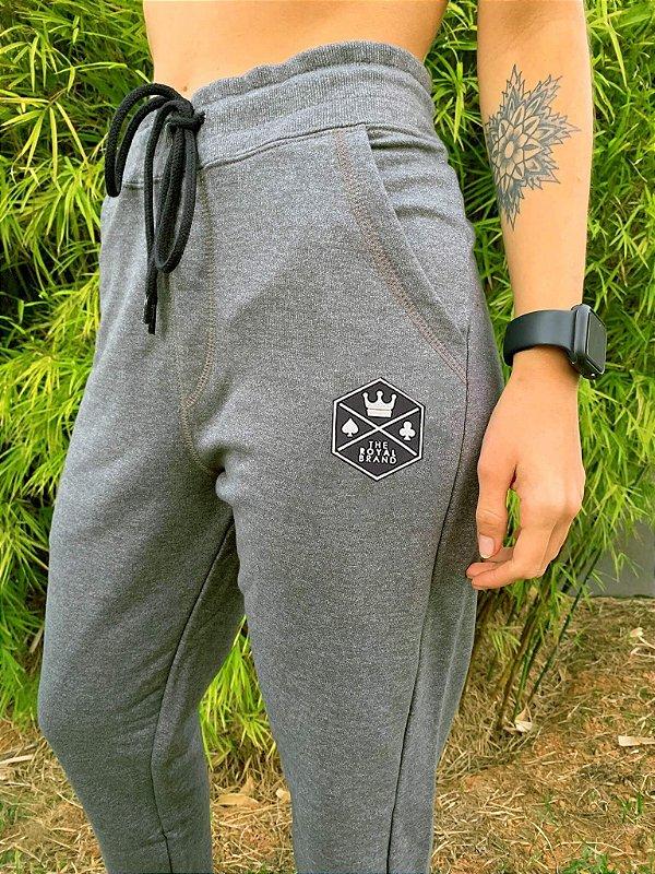 Calça de Moletom Unissex Royal Brand Mescla