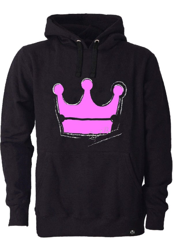 Moletom Feminino Royal Crown Rosa