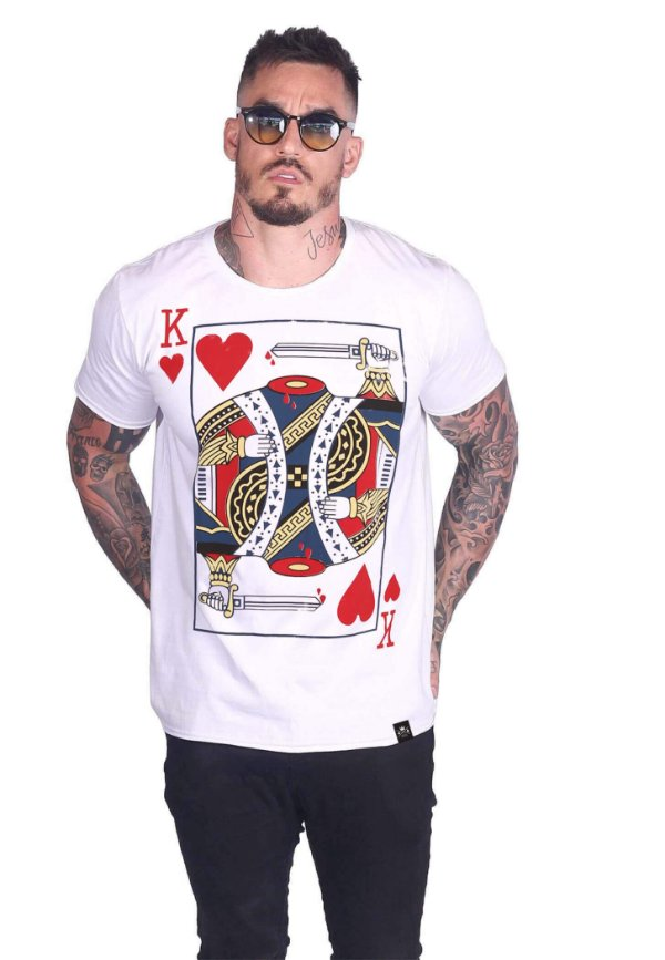 Camiseta Dead King of Hearts