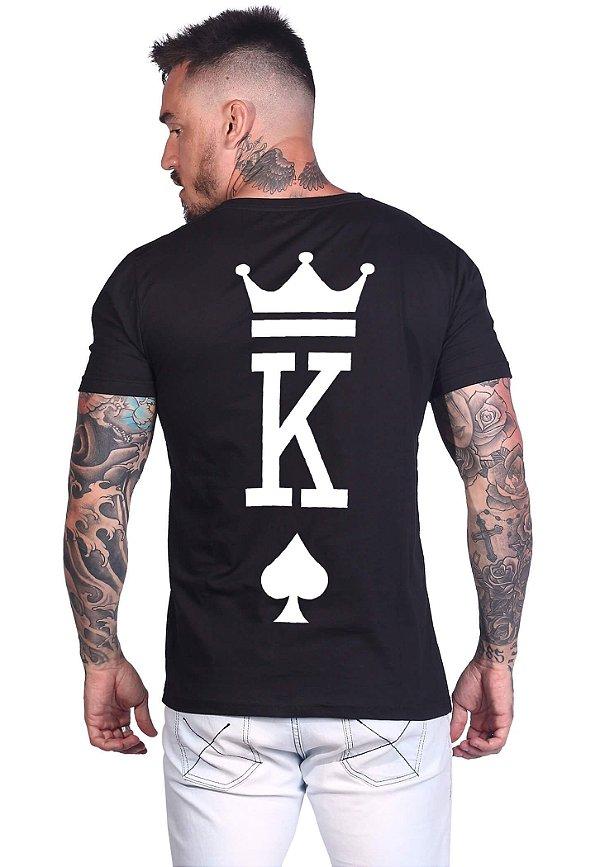 Camiseta Valentine King Black