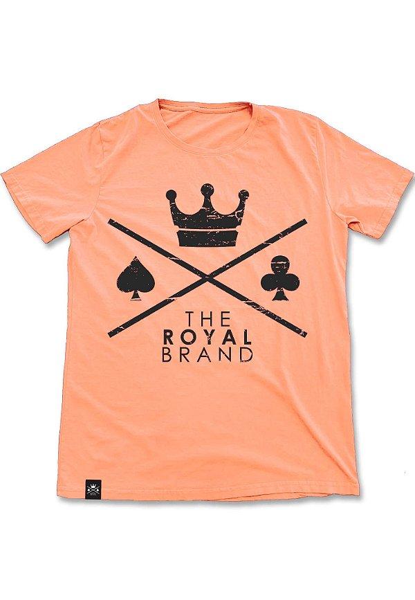 Camiseta Royal Signature Logo Laranja
