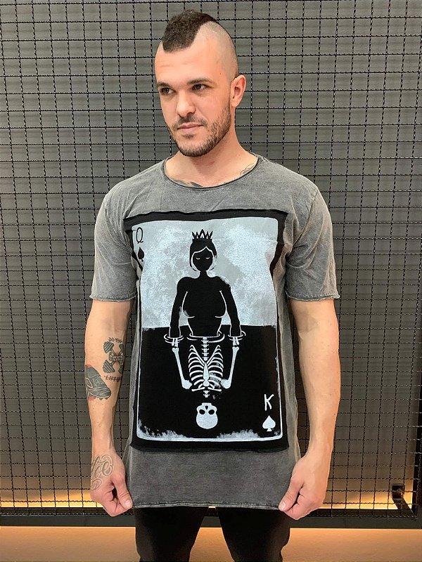 Camiseta Dead Queen Marmorizado