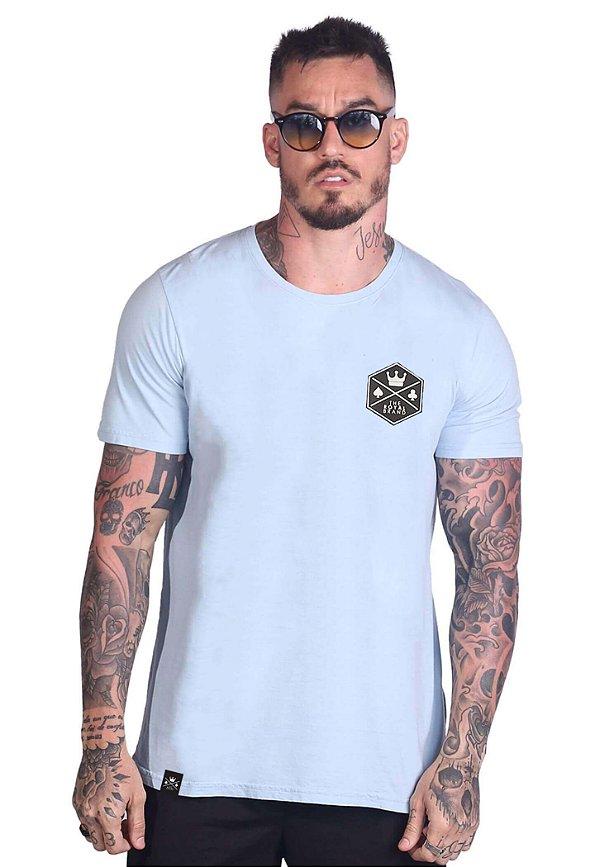 Camiseta Royal Signature Basic Azul Claro