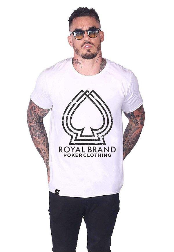 Camiseta 3D Spade Branco