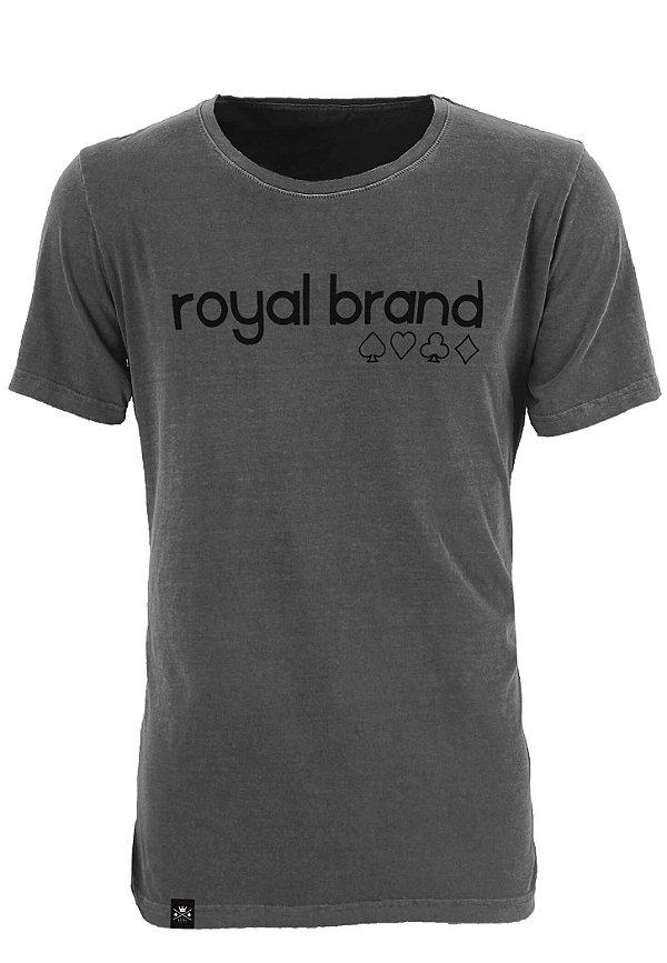 Camiseta Royal Suits Chumbo