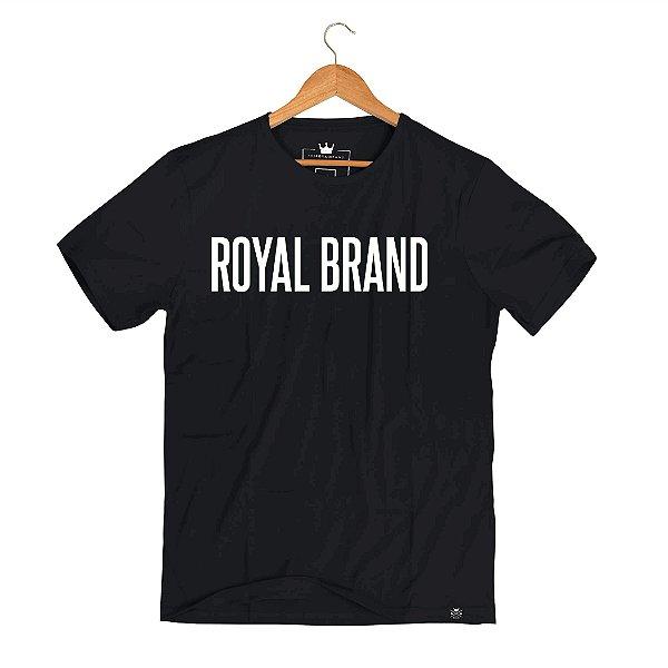 Camiseta Royal Signature Classic Black