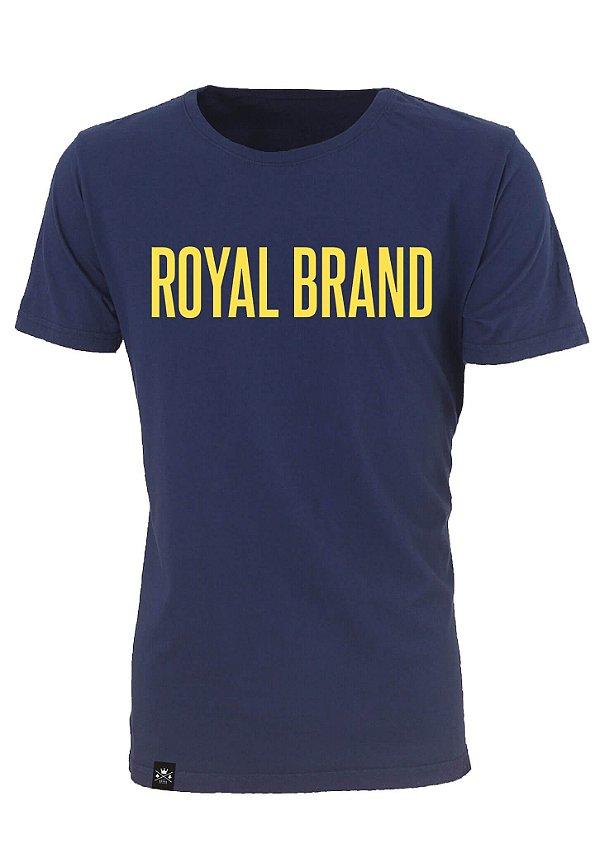 Camiseta Royal Signature Marinho