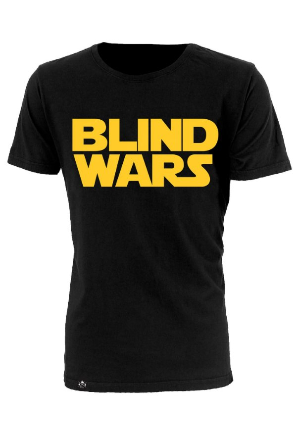 Camiseta Blind Wars Preto