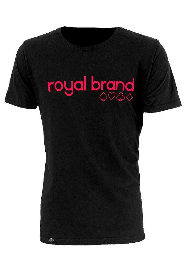 Camiseta Royal Suits Preto