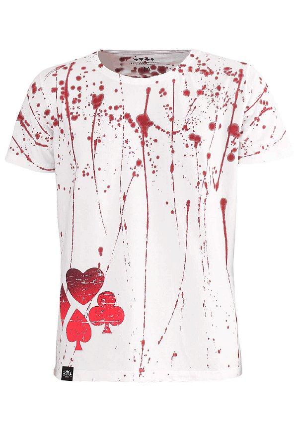 Camiseta Blood Suits