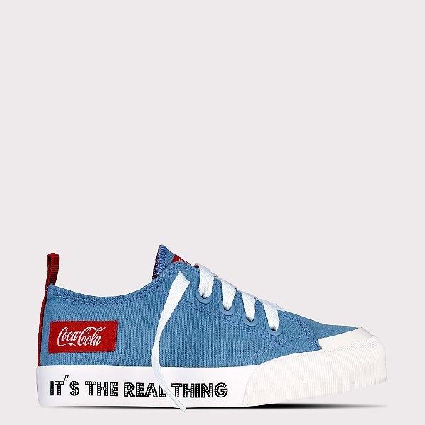 Tênis Coca-Cola Resort Rt - Jeans