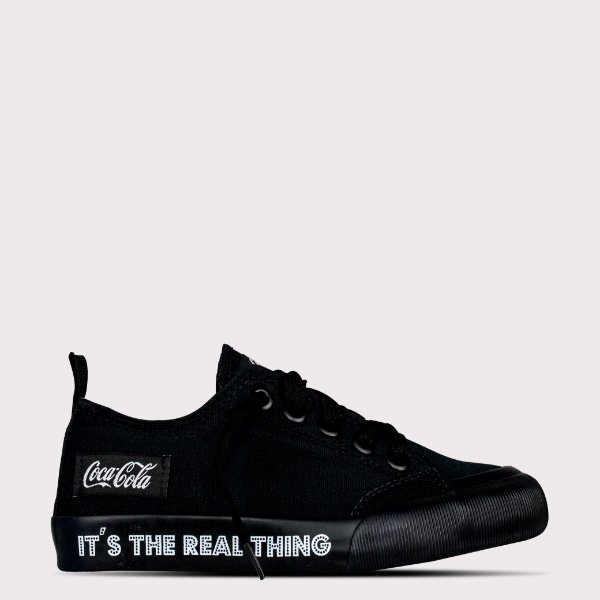 Tênis Coca-Cola Resort Rt - All Black