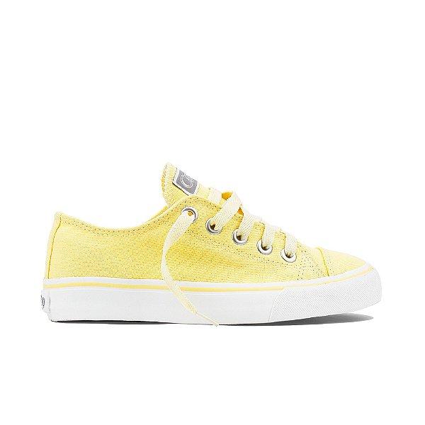 Tênis Capricho Like Lace - Amarelo