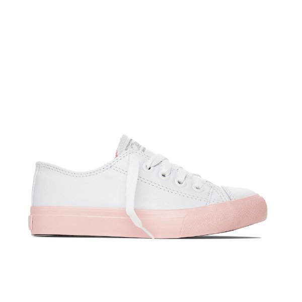 Tênis Capricho Likes Class Color Band - Branco e Rosa