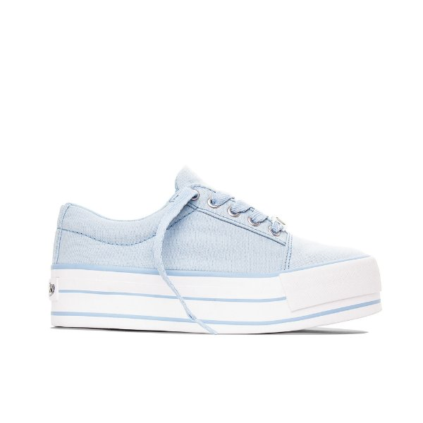 Tênis Capricho Break Platform Canvas - Azul