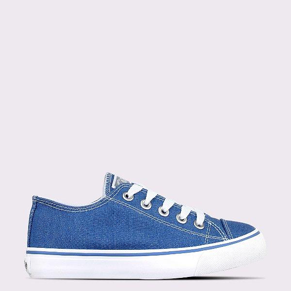 Tênis Capricho Likes Jeans - Blue