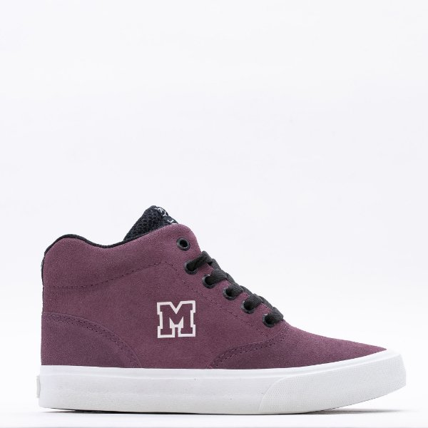 Tênis Feminino Mary Jane High School Skt - Lilás