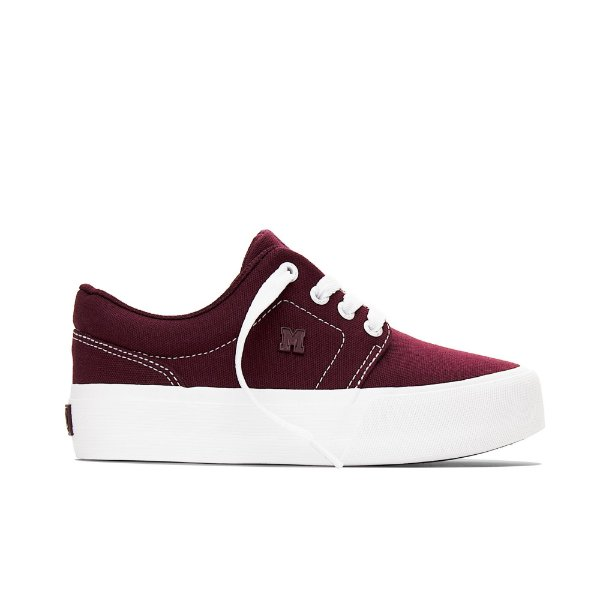 Tênis Feminino Mary Jane Plataforma Insta Fresh - Bordo