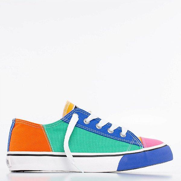 Tênis Capricho Likes Multicolor - Multicolor/Royal