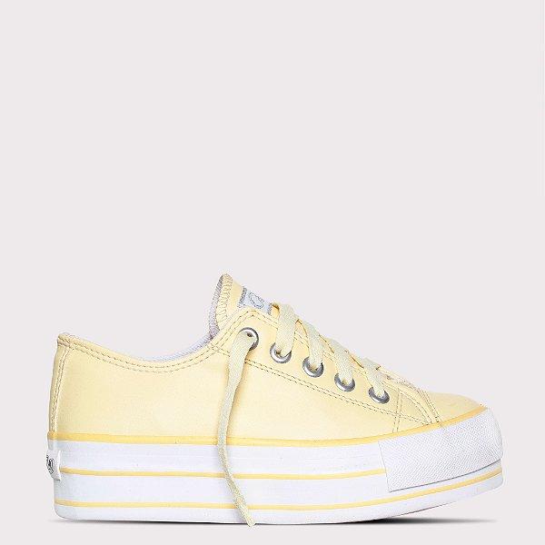 Tênis Capricho Likes Platform Class - Yellow