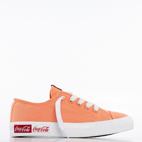 Tênis Coca-Cola Blend Canvas - Pêssego