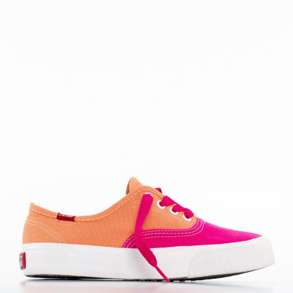 Tênis Coca-Cola Kick Summer - Pink/Pêssego