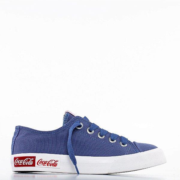 Tênis Coca-Cola Blend Canvas - Ocean