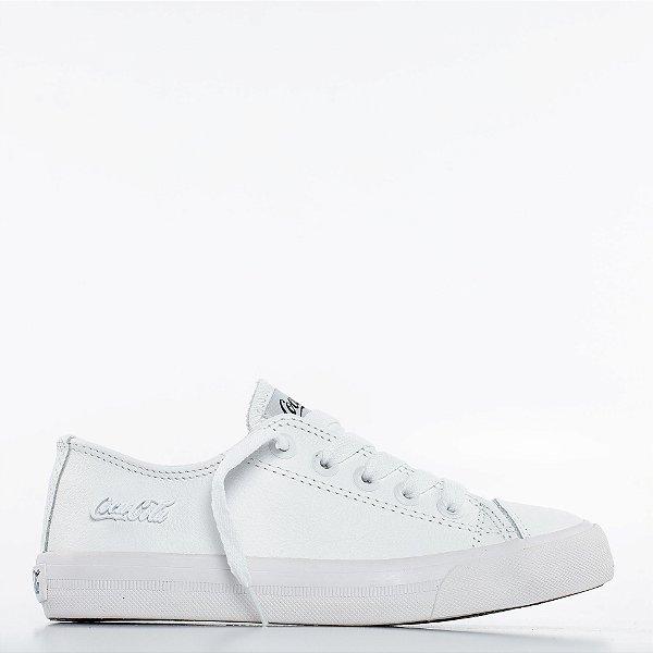 Tênis Coca-Cola Atlanta Leather - All White