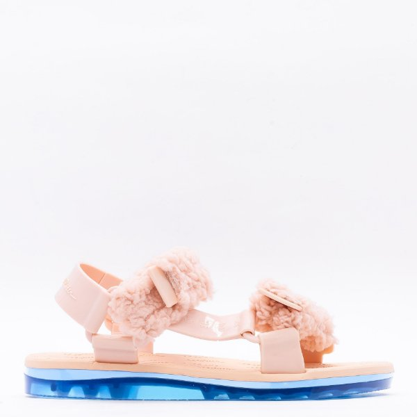 Papete Melissa Fluffy + - Rosa/Azul
