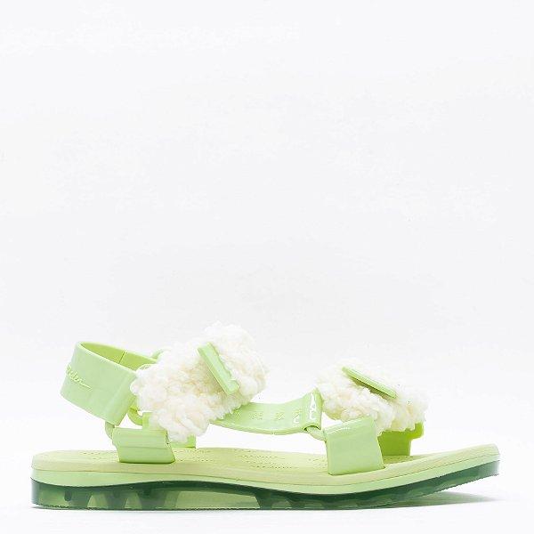 Papete Melissa Fluffy + - Verde