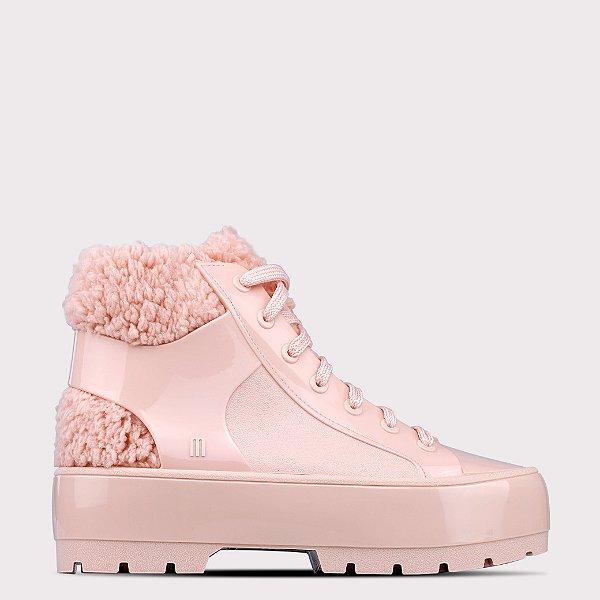 Bota Melissa Fluffy Sneaker - Rosa Europa Opaco