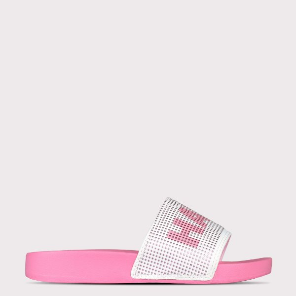 Chinelo Capricho Slide Have Fun - Gloss/Gloss