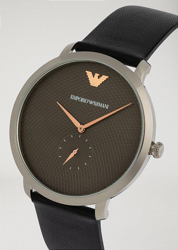 cd2df725878 Relógio Emporio Armani Masculino Modern Slin Prata