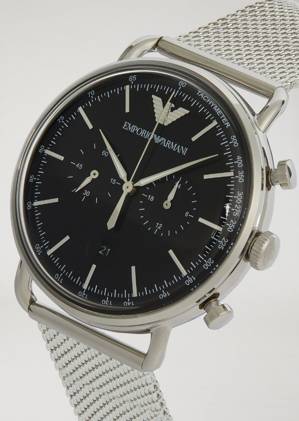 6983ce030 Relógio Emporio Armani Masculino Aviator Classic - A Europa no Brasil!