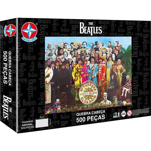 Quebra-Cabeça The Beatles 500 peças - Estrela
