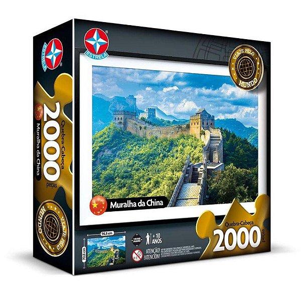 Quebra-cabeça 2000 Peças - Muralha Da China - Estrela
