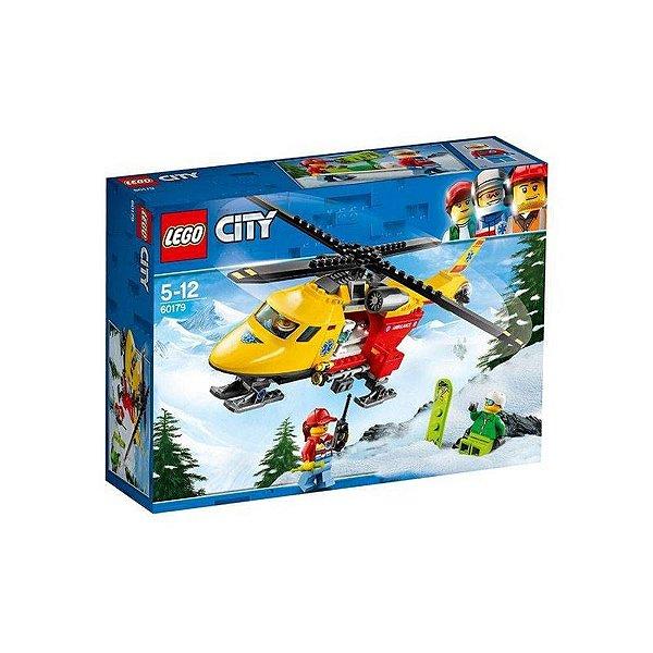 Lego 60179 Helicóptero Ambulância