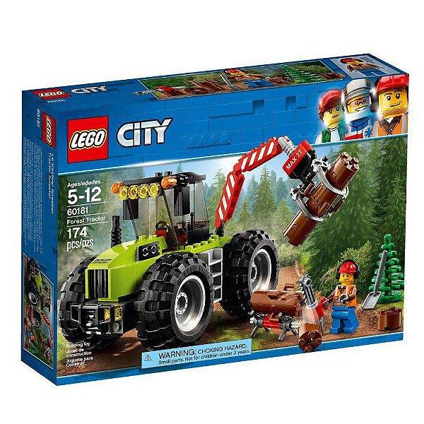 Lego 60181 Trator Florestal