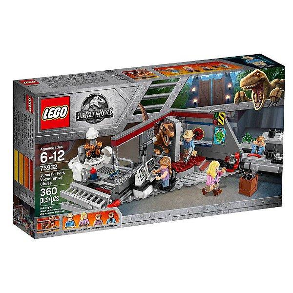 Lego 75932 Jurassic World - Perseguição Velociraptor