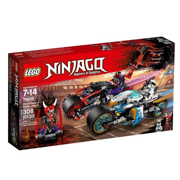 Lego 70639 Street Race Snake Jaguar