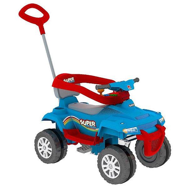 SuperQuad Bandeirante Passeio & Pedal - Azul