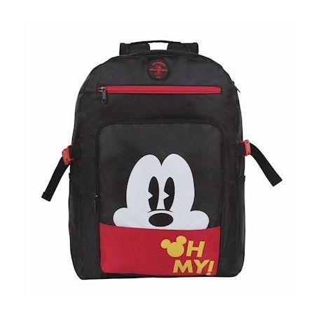 Mochila De Costas Geek Mickey Vintage Black