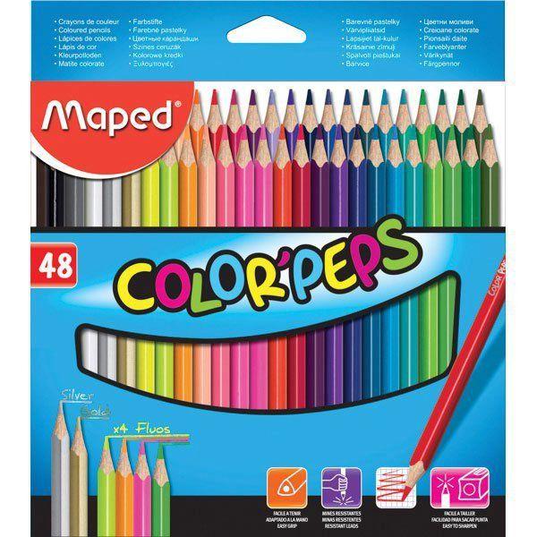 Lápis De Cor Color Peps 48 Cores