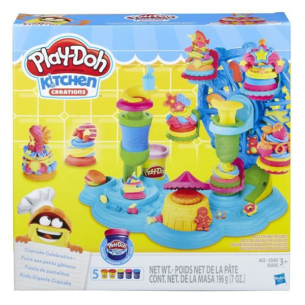 Play Doh Roda Gigante Cupcake