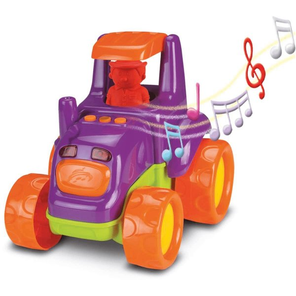 Trator Baby Truck Musical - Roma-SORTIDO