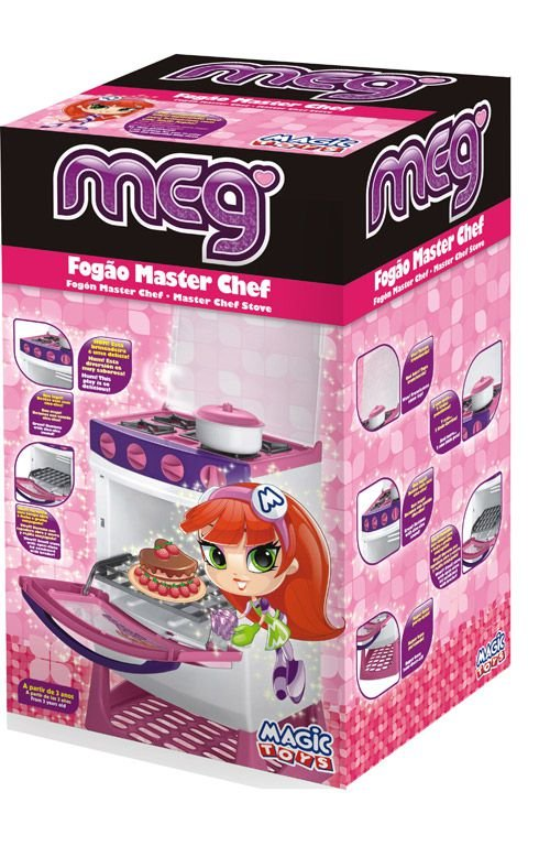 Fogão Infantil Magic Toys Master Chef