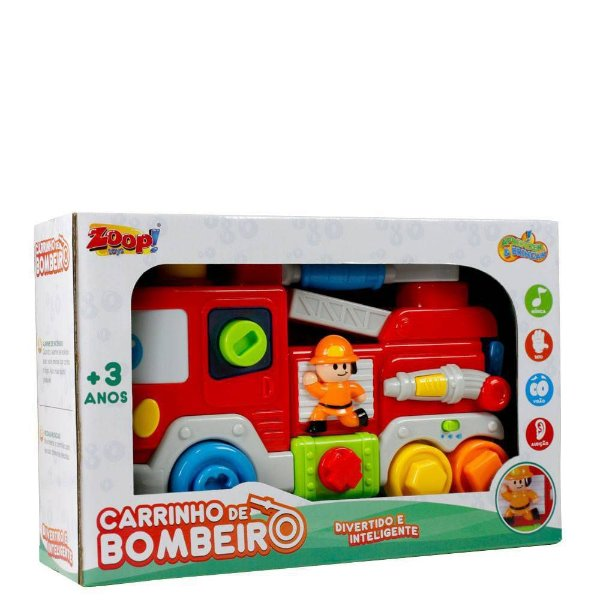 Carrinho De Bombeiro Zoop Toys