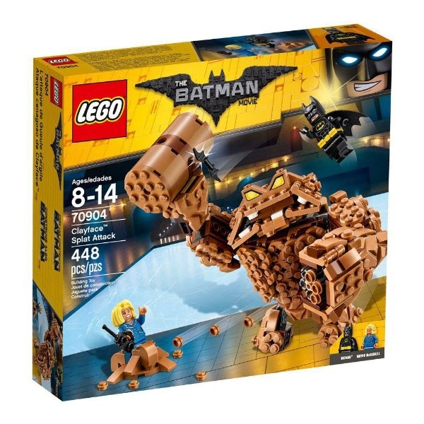 Lego Batman - O Ataque de Lama do Cara-de-Barro - 70904