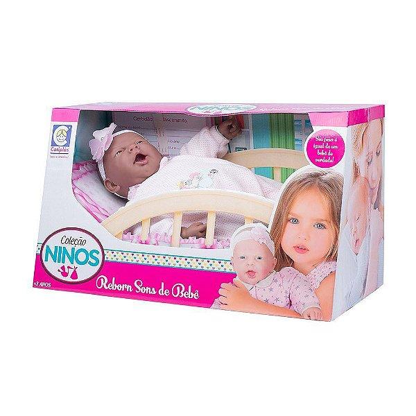 Coleção Ninos Reborn Sons de Bebê - Cotiplás