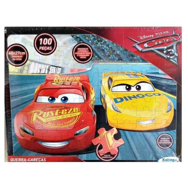 Xalingo Quebra-Cabeça Carros 100 Peças